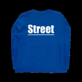 のすショップのBIKE AND STREET Long sleeve T-shirtsの裏面