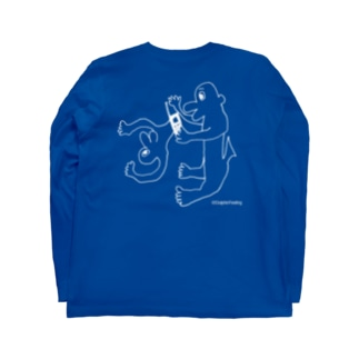 マ.psdのHi Long sleeve T-shirts