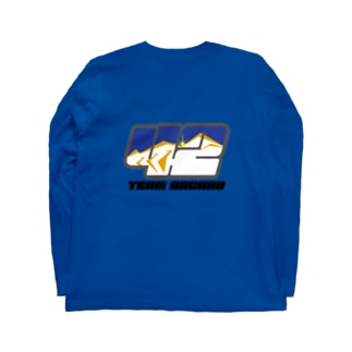 ゼッケンロゴ Long sleeve T-shirts