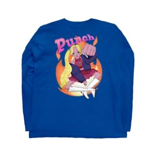 Punch girl👊 Long sleeve T-shirts