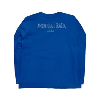 Eraco White 英字Ver. Long sleeve T-shirts