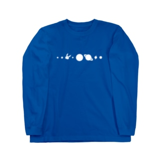 【復刻】コスモサイトウサン(2013年版)白インク印刷 Long sleeve T-shirts