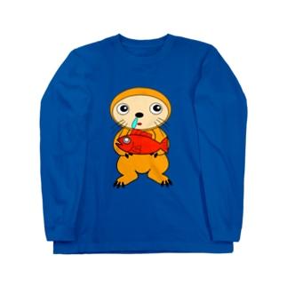 カナメリアン君 Long sleeve T-shirts