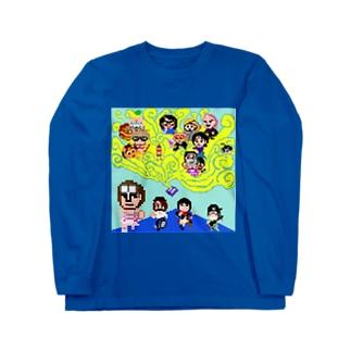 魔法少女犬子と幸子 ジャケ写1 Long sleeve T-shirts