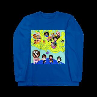 マニマニの魔法少女犬子と幸子 ジャケ写1 Long sleeve T-shirts