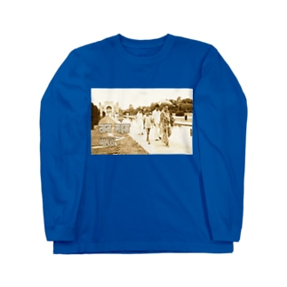 インド:タージ・マハル India: Taj Mahal (CG art) Long sleeve T-shirts