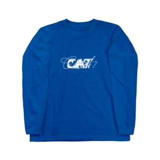 ロロロrrゴゴゴゴgggBLUE Long sleeve T-shirts