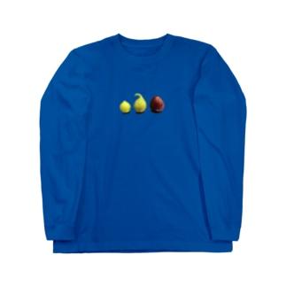 イチジク Long sleeve T-shirts