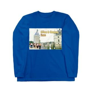 フランス:シュノンソー城 France: Château de Chenonceau Long sleeve T-shirts