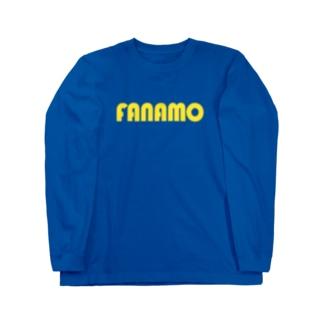 ファナモ Long sleeve T-shirts