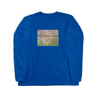 ツユクサ Long sleeve T-shirts