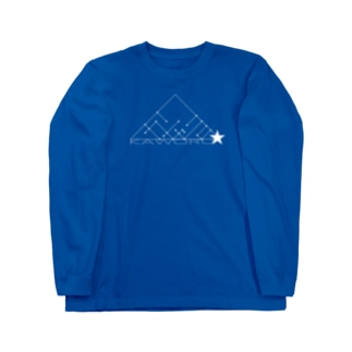 かをる★ロゴ Long sleeve T-shirts