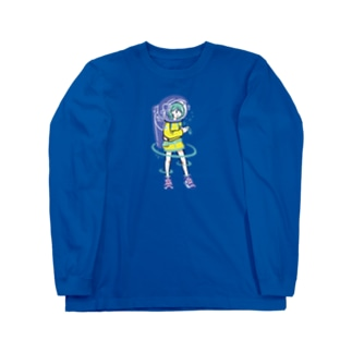 SPACE Long sleeve T-shirts