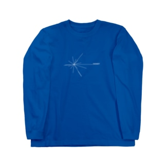 Voyagerロゴ(白) Long sleeve T-shirts
