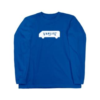 vanlife plus_logomark02 Long sleeve T-shirts
