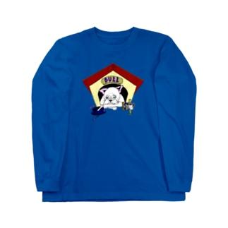 """BULL COVID-19"" Long sleeve T-shirts"