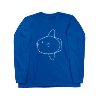 マンボウくん Long sleeve T-shirts