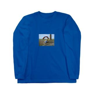 日本最東端、納沙布岬 Long sleeve T-shirts