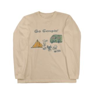 キャンプ旅にいきたい Long sleeve T-shirts
