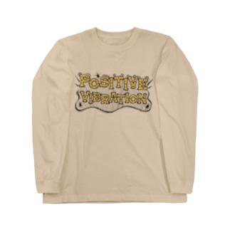 POSITIVE VIBRATION Long Sleeve T-Shirt