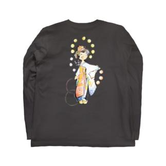 五花街の京舞妓 第一弾 Long sleeve T-shirts