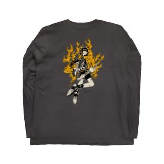 アチアチガール Long sleeve T-shirts