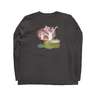 キナバル_セネガル-バオバブ No.6 Long sleeve T-shirts