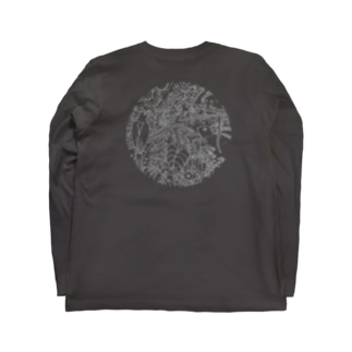 奄美の森グレー Long sleeve T-shirts