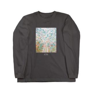 秘色の夢  Long sleeve T-shirts