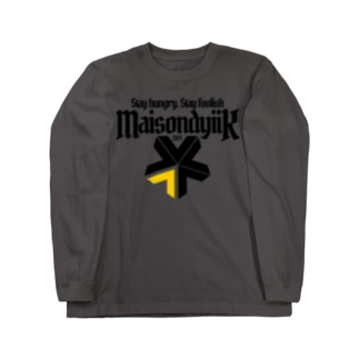 Maison dyiik logo Long sleeve T-shirts