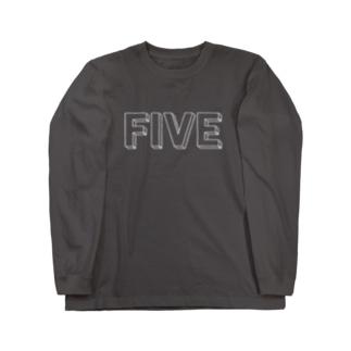 FIVE Long sleeve T-shirts