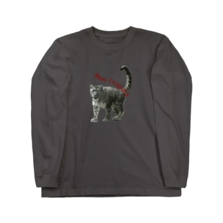 SnowLeopard Long sleeve T-shirts