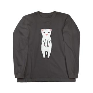 フェレットさん Long sleeve T-shirts