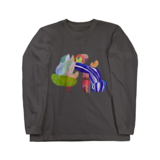 のびのびどーう Long sleeve T-shirts
