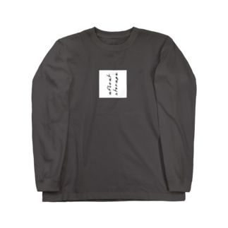 afloat storageのロンT Long sleeve T-shirts