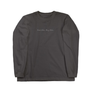HandWriting [Work Hebo Play Hebo] Long sleeve T-shirts