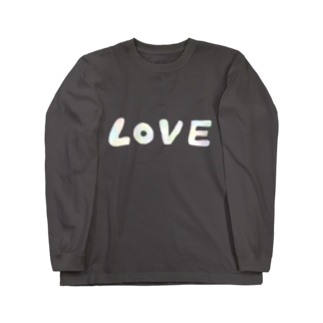 LOVE Long sleeve T-shirts