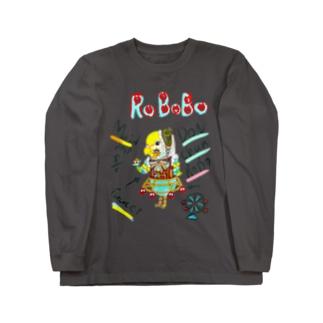 ROBOBO🤖「どんちゃんロボ」 Long sleeve T-shirts