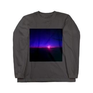 夜 Long sleeve T-shirts
