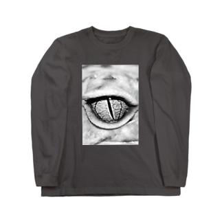 gecko leopard eye Long sleeve T-shirts