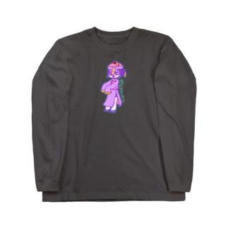 進撃!きょんしーちゃん!色 Long Sleeve T-Shirt