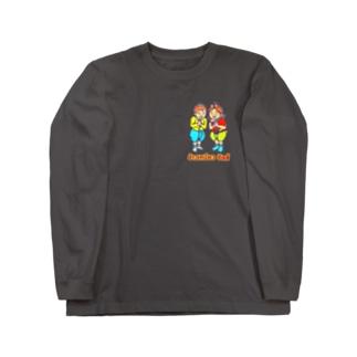 カオニャオ姉弟② Long sleeve T-shirts