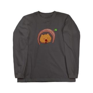 ウォンバットのTumoriちゃん Long sleeve T-shirts