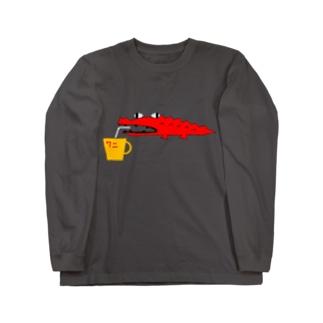 ワニだからWain? Long sleeve T-shirts