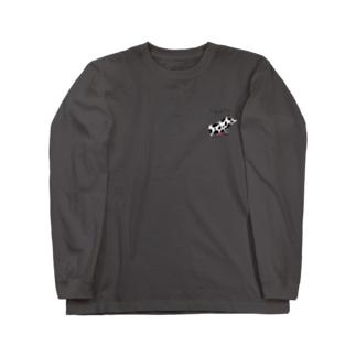 牛になりたい豚。 Long sleeve T-shirts