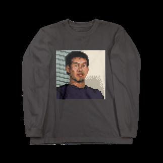 みきちゃん📛のドット野獣先輩 Long sleeve T-shirts