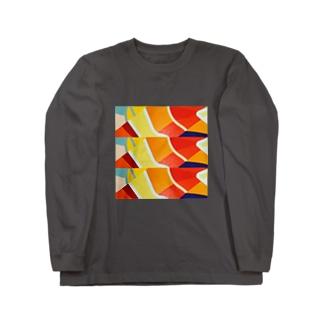 KOI-NOBORI OF THE SUN Long sleeve T-shirts