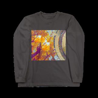 ぬっの秋だねえ Long sleeve T-shirts
