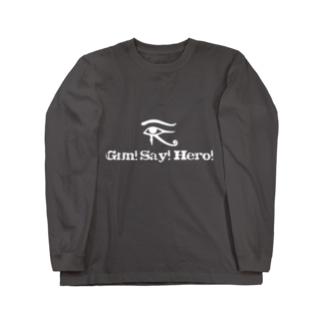 眼精疲労(まぶしい Long sleeve T-shirts