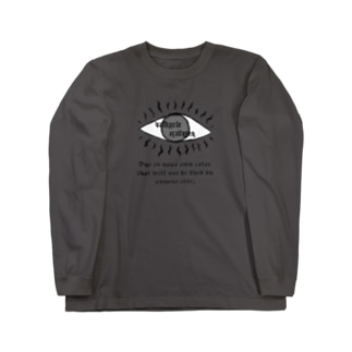 Valkyrie eye long sleeve T-shirt(sumi) Long sleeve T-shirts